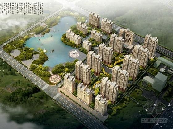 [山东]欧式风格高层住宅区规划及单体设计方案文本