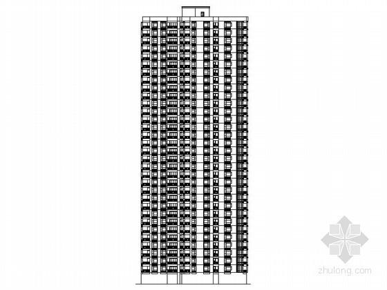 [湖南]某三十三层二梯六户商住楼建筑扩初图(含效果图)