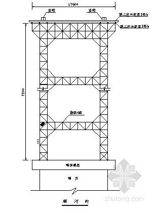 桥梁缆索吊装系统布置图