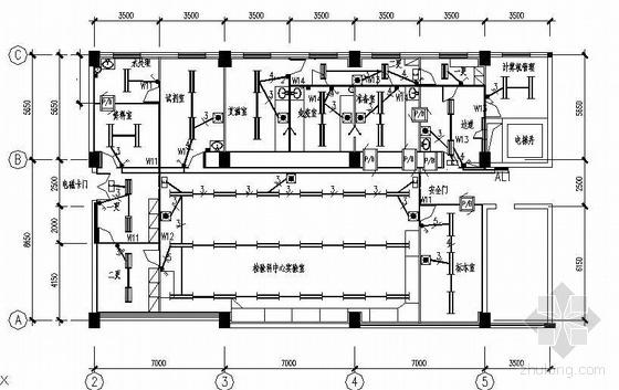 二级生物安全实验室配电设计