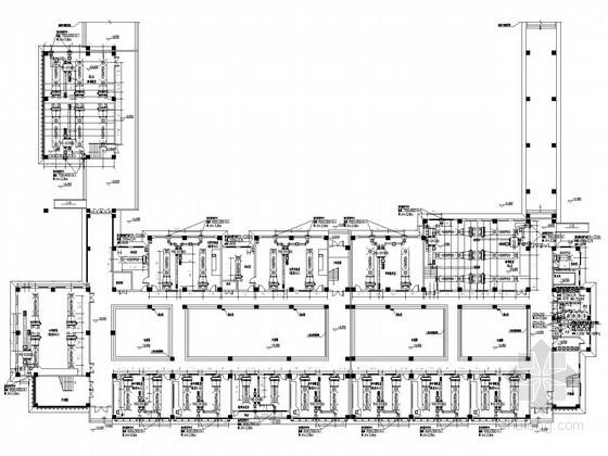 [河南]多栋学校建筑空调通风系统设计施工图(水源热泵)
