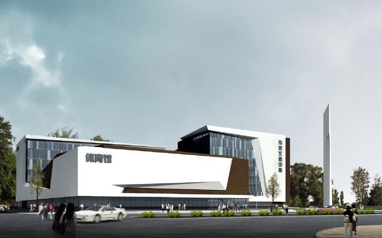 [深圳]龙岗区布吉街道文体中心工程建筑规划设计文本