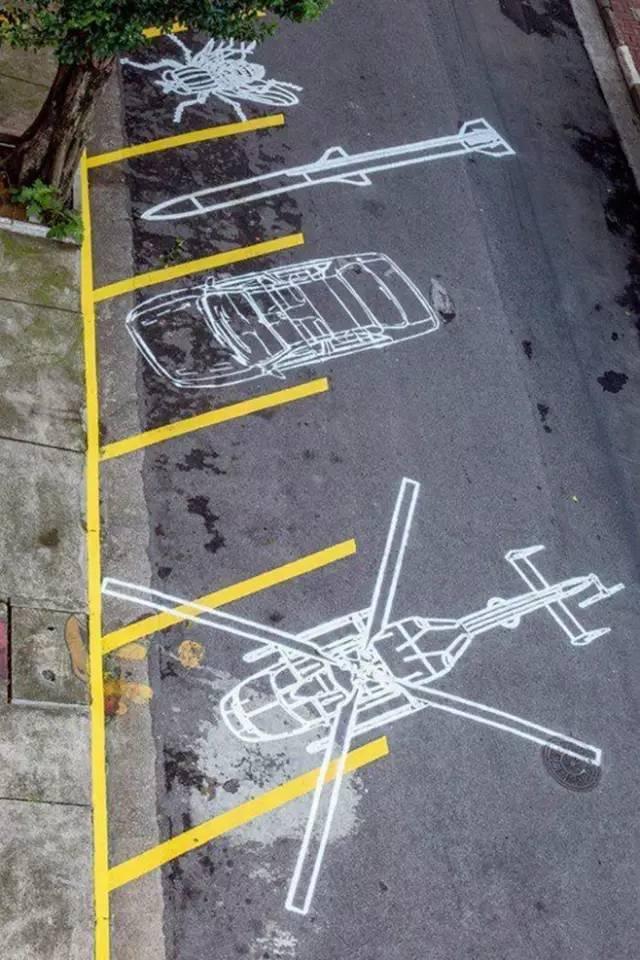 停车场也玩生态_36