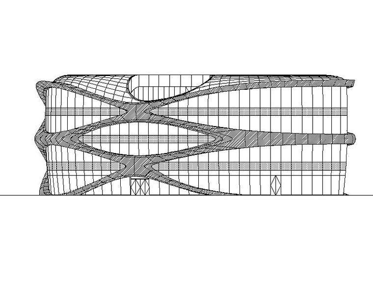 [合集]3套SOHO形式办公及商业建筑施工图