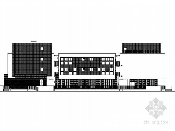 [合集]4套长条式幼儿园建筑施工图(含效果图以及16年最新图纸)