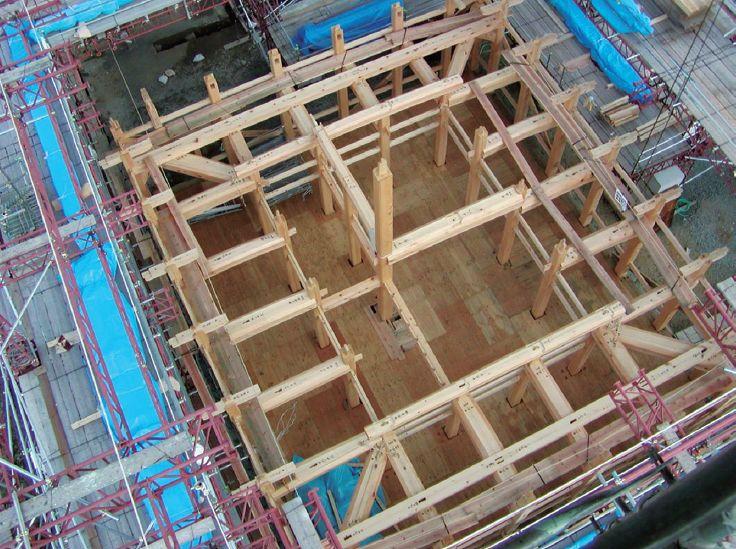 木结构建筑复原记:日本大洲城天守阁修缮_16