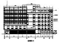 多层知名企业办公楼建筑设计施工图