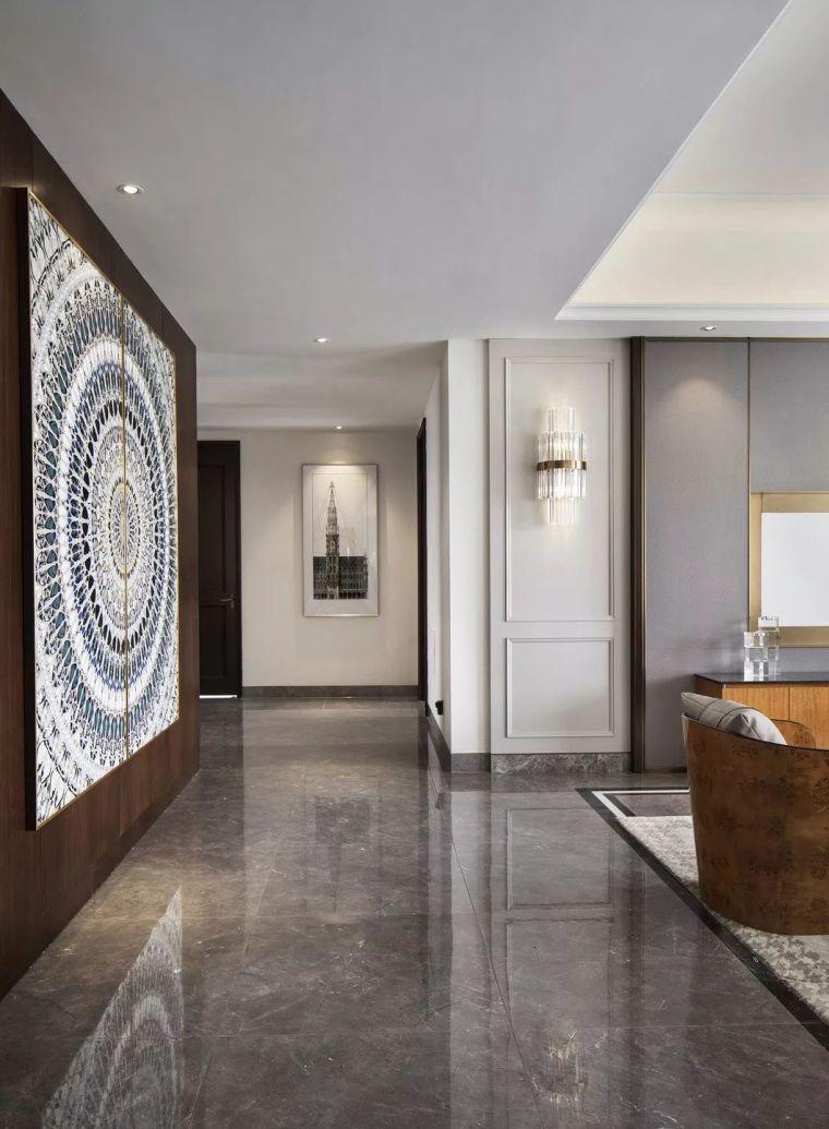 240㎡珍稀优雅豪宅软装设计,创造引领新都市的优质生活空间!_11