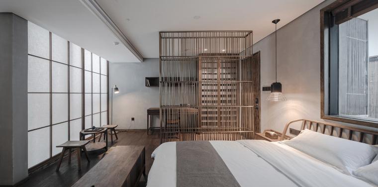上海原招待所改造的新中式渝舍印象酒店内部实景图 (9)