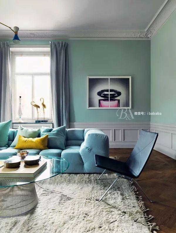 高级灰+蓝色,天生骄傲,打造优雅的高贵感_25