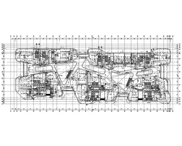 [北京]知名商业区办公商业综合体大厦电气全套施工图(大院之作)