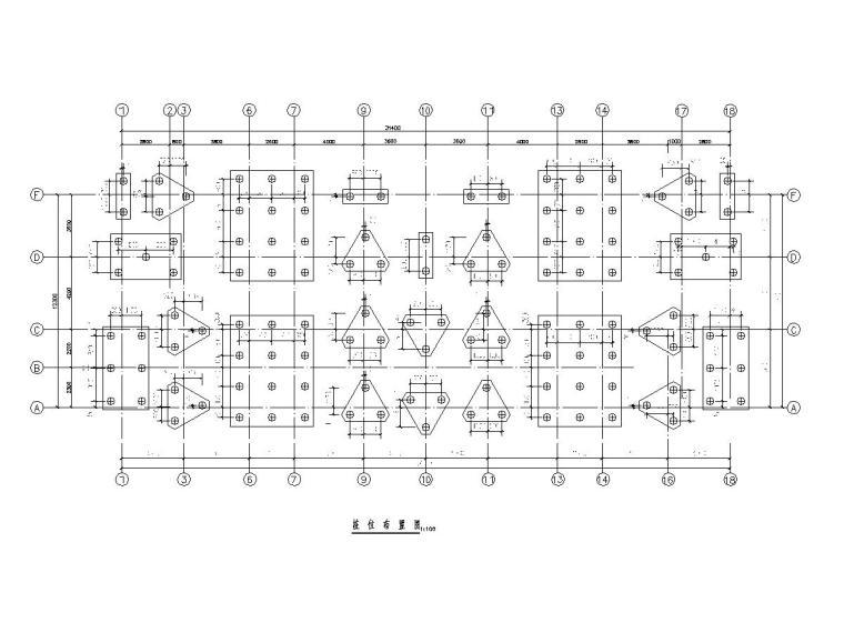 [海南]地上11+1层框架抗震墙结构安置楼房结构施工图