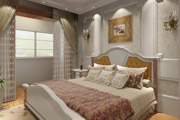 115平三室一厅欧式风格