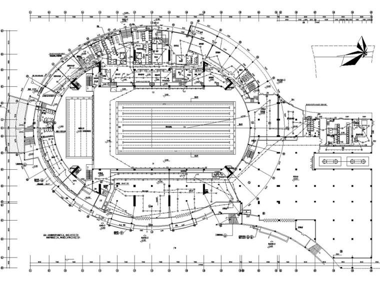[重庆]体育馆、游泳馆火灾报警系统改造工程电气施工图