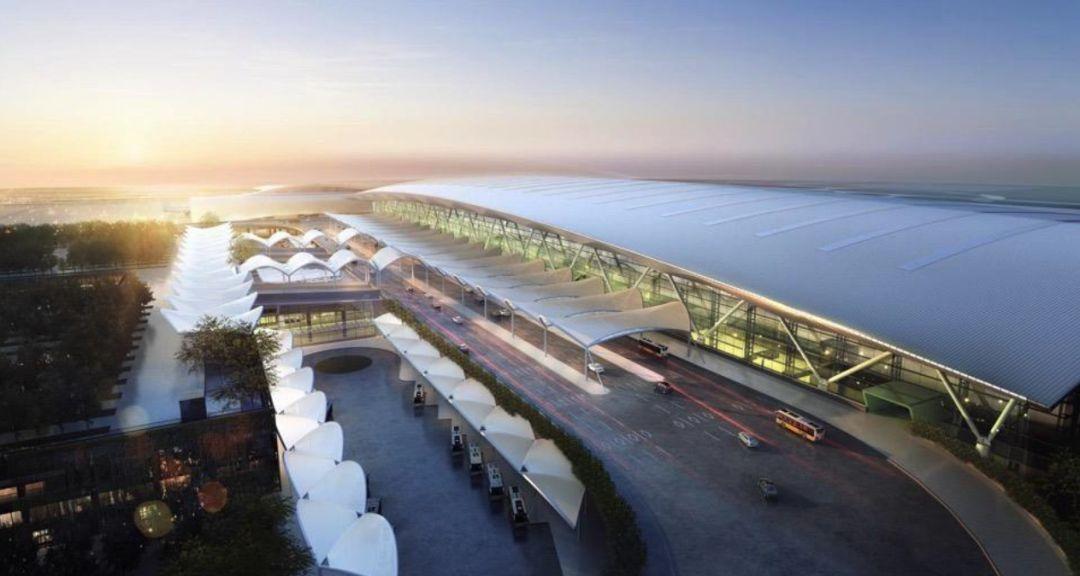 漫谈金属屋面的建筑设计应用(1)——广州新白云国际机场航站楼_24