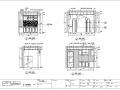 武汉万科西半岛A3-201样板房室内设计施工图
