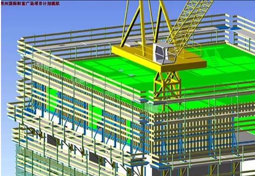 苏州国际财富广场,BIM技术,中国BIM培训网