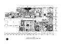 中式风格星级酒店设计CAD施工图(含效果图)