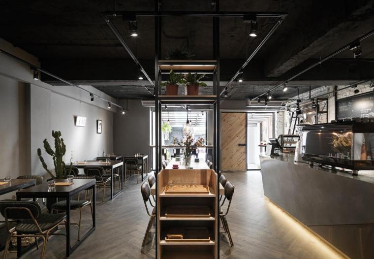 台湾工业风格咖啡馆-1
