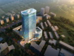 [广东]动漫大厦办公楼全套方案图纸(含效果图)