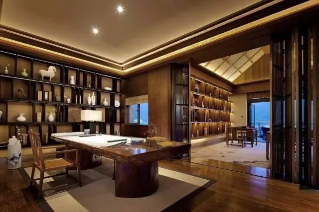 居 新中式的书房_5
