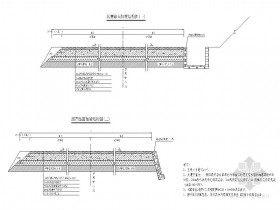 乡镇土路改造沥青道路工程全套施工图(35页 大量表格)