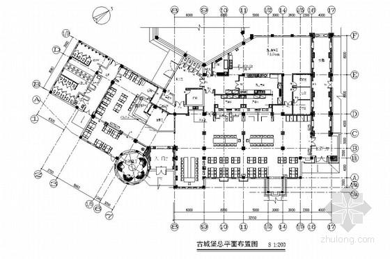 [大连]黄金海岸奇幻城堡旅游度假主题公园施工图(含实景图)