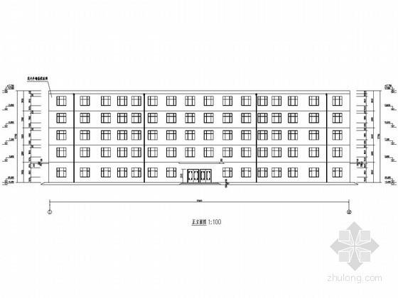 [学士]五层框架结构学院教学楼毕业设计(含建筑结构图纸 计算书)