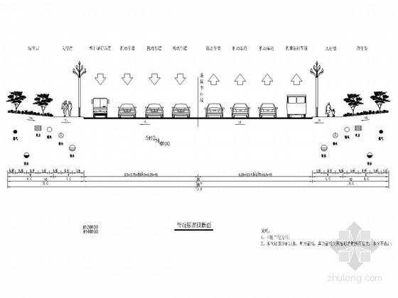 U型景观泳池结构施工图资料下载-[四川]城市景观大道电力工程施工图设计15张