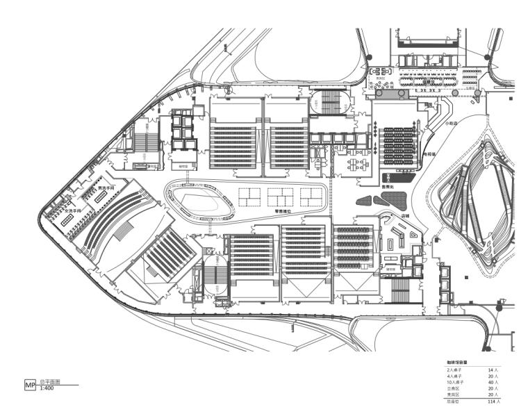 杭州来福士广场橙天嘉禾影城丨效果图+PDF施工图+材料表