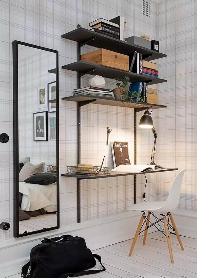 室内设计|N款工作间与书桌,看一眼就为之着迷!_10