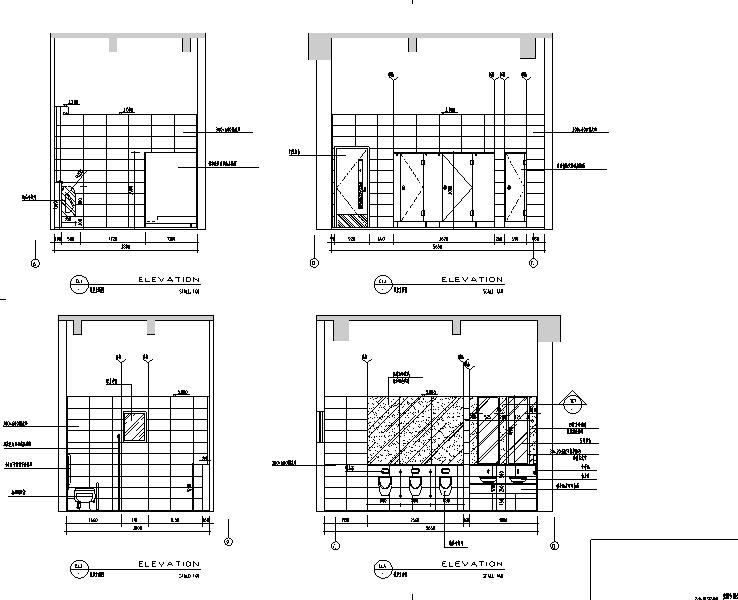 7500平米公寓酒店设计施工图(附效果图)_2