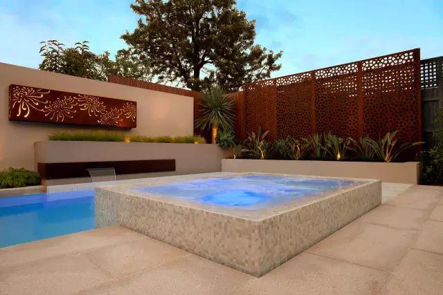 赶紧收藏!21个最美现代风格庭院设计案例_78