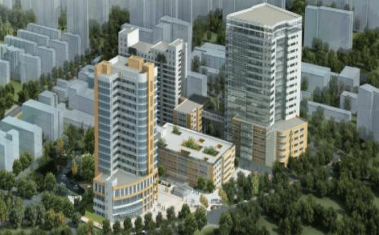 [BIM案例]上海市第六人民医院科研综合楼