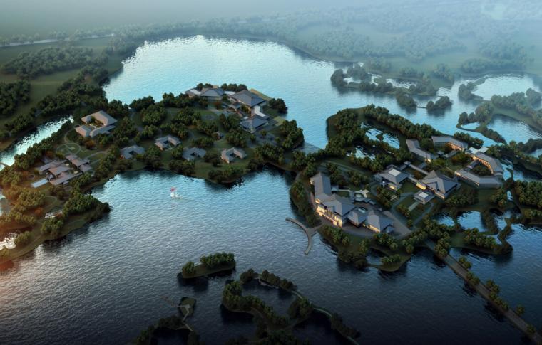 [辽宁]新中式国际宾馆项目建筑文本(含酒店、会议等功能建筑)
