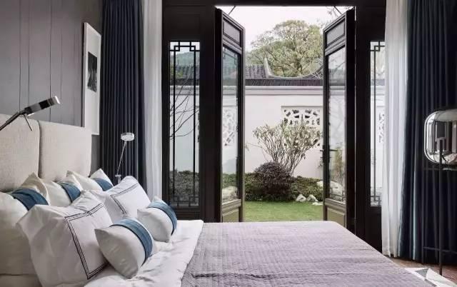 有一种新中式,叫卧室设计