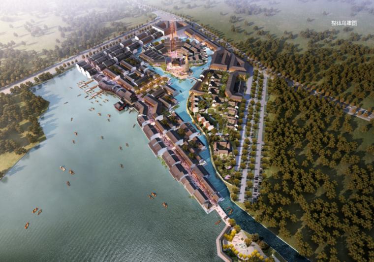 [湖北]武汉仿古商业街区项目规划及建筑设计方案文本