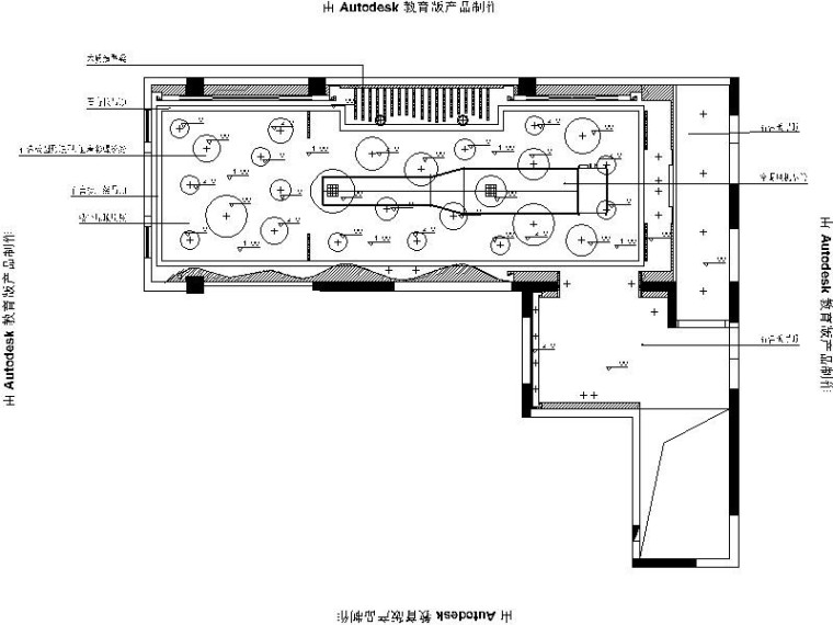 [柳州]新中式自然清新火锅店室内设计施工图(含效果图)