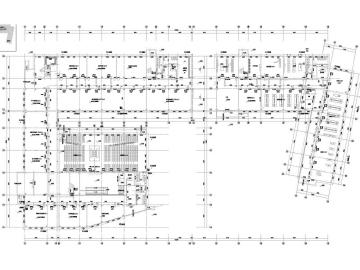 [江苏]高等院校多栋建筑空调通风防排烟系统设计施工图