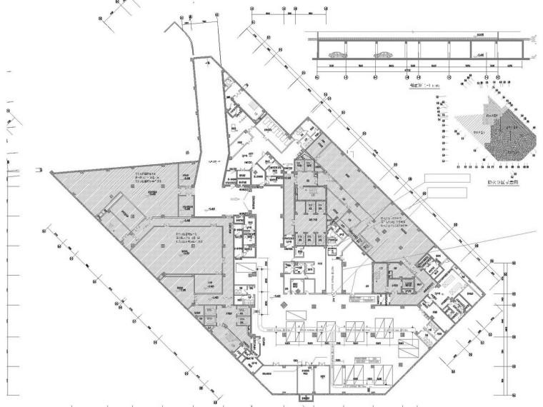 [江苏]高层医院空调通风防排烟系统设计施工图(人防设计)