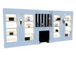 现代装饰造型墙3D模型下载