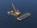 跨海大桥施工全过程高清动画演示4分钟(无水印)