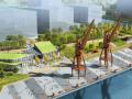"""[上海]""""绳""""彩飞扬工业码头文化公园景观设计方案"""