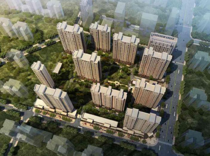[陕西]西安某高层住宅小区规划设计方案文本