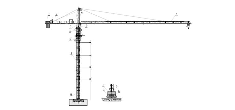 [江苏]人才公寓项目塔吊安装、拆卸安全专项施工方案