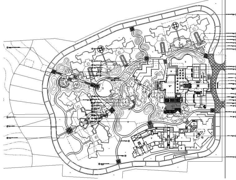 [中国]某居住区翠茵豪庭景观设计全套施工图(包含+89个CAD)