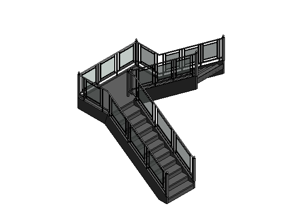 bim软件应用-族文件-栏杆