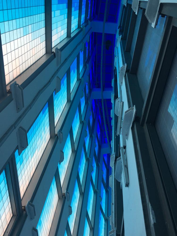 福州的蓝色玻璃教堂-8
