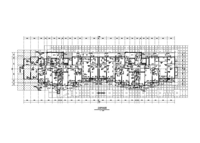[西安]32层剪力墙结构住宅楼结构施工图2016
