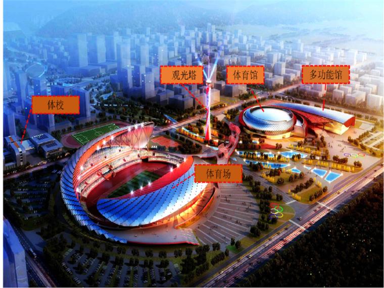 [蚌埠]体育中心钢结构施工技术标(256页)